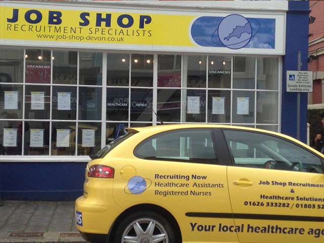 Job Shop in Newton Abbot